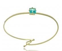Bracelete Cristal Quadrado
