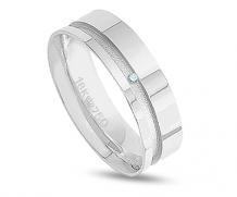 Aliança prata 950